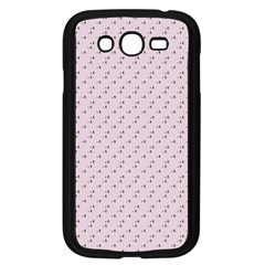 Pink Flowers Pink Samsung Galaxy Grand Duos I9082 Case (black)