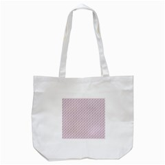 Pink Flowers Pink Tote Bag (white)