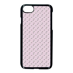 Pink Flowers Pink Apple Iphone 8 Seamless Case (black)