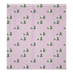 Pink Flowers Pink Big Shower Curtain 66  X 72  (large)