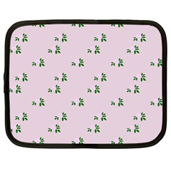 Pink Flowers Pink Big Netbook Case (xl)