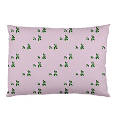 Pink Flowers Pink Big Pillow Case (two Sides)