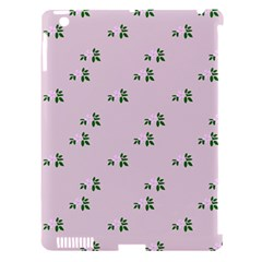 Pink Flowers Pink Big Apple Ipad 3/4 Hardshell Case (compatible With Smart Cover)