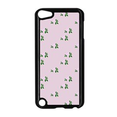 Pink Flowers Pink Big Apple Ipod Touch 5 Case (black)