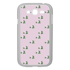 Pink Flowers Pink Big Samsung Galaxy Grand Duos I9082 Case (white)