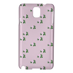Pink Flowers Pink Big Samsung Galaxy Note 3 N9005 Hardshell Case