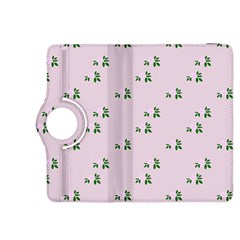Pink Flowers Pink Big Kindle Fire Hdx 8 9  Flip 360 Case