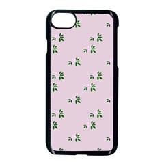 Pink Flowers Pink Big Apple Iphone 7 Seamless Case (black)