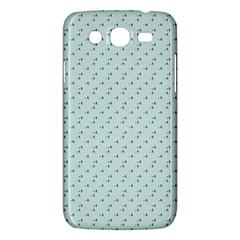 Pink Flowers Blue Samsung Galaxy Mega 5 8 I9152 Hardshell Case