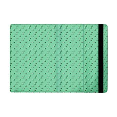 Pink Flowers Green Ipad Mini 2 Flip Cases