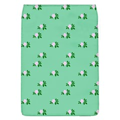 Pink Flowers Green Big Flap Covers (l)