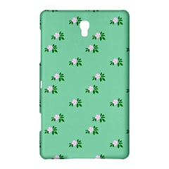 Pink Flowers Green Big Samsung Galaxy Tab S (8 4 ) Hardshell Case