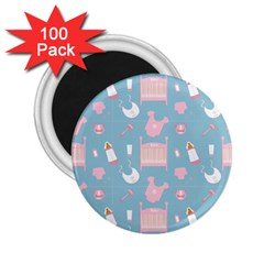 Baby Pattern 2 25  Magnets (100 Pack)