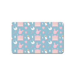 Baby Pattern Magnet (name Card)