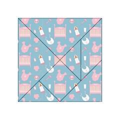 Baby Pattern Acrylic Tangram Puzzle (4  X 4 )