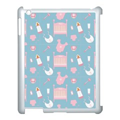 Baby Pattern Apple Ipad 3/4 Case (white)
