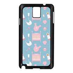 Baby Pattern Samsung Galaxy Note 3 N9005 Case (black)