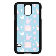 Baby Pattern Samsung Galaxy S5 Case (black)