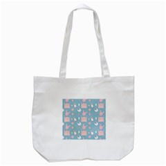 Baby Pattern Tote Bag (white)