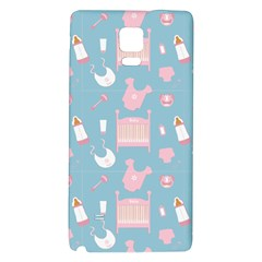 Baby Pattern Galaxy Note 4 Back Case