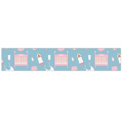 Baby Pattern Large Flano Scarf