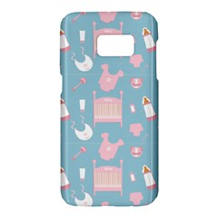 Baby Pattern Samsung Galaxy S7 Hardshell Case