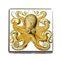 Gold Octopus Memory Card Reader (square)