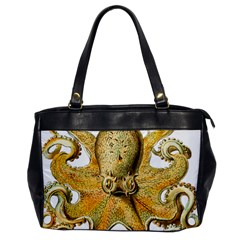 Gold Octopus Office Handbags
