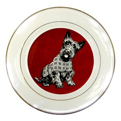 Scottish Porcelain Plates
