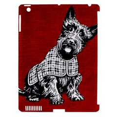 Scottish Apple Ipad 3/4 Hardshell Case (compatible With Smart Cover)