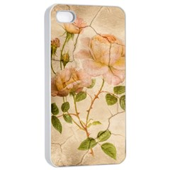 Rose Flower 2507641 1920 Apple Iphone 4/4s Seamless Case (white)