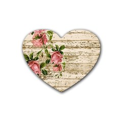 On Wood 2226067 1920 Heart Coaster (4 Pack)