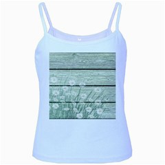 On Wood 2157535 1920 Baby Blue Spaghetti Tank