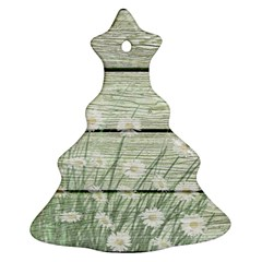 On Wood 2157535 1920 Christmas Tree Ornament (two Sides)