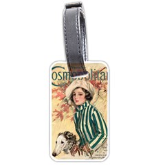 Cosmopolitan Fc November 1917 Luggage Tags (one Side)