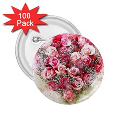 Flowers 2548756 1920 2 25  Buttons (100 Pack)