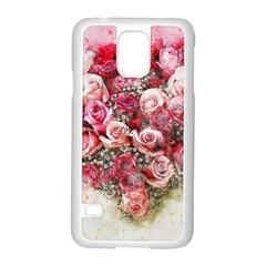 Flowers 2548756 1920 Samsung Galaxy S5 Case (white)