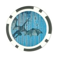 Dragon 2523420 1920 Poker Chip Card Guard (10 Pack)