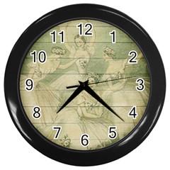 Ballet 2523406 1920 Wall Clocks (black)