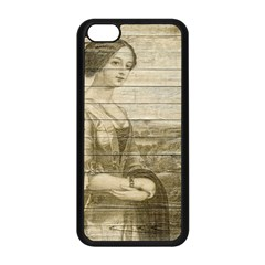 Lady 2523423 1920 Apple Iphone 5c Seamless Case (black)