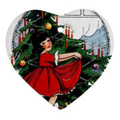 Christmas 1912802 1920 Heart Ornament (two Sides)