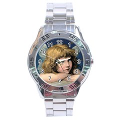 Angel 1866592 1920 Stainless Steel Analogue Watch