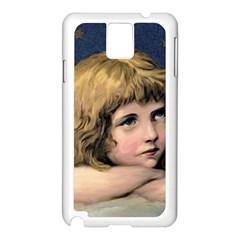 Angel 1866592 1920 Samsung Galaxy Note 3 N9005 Case (white)