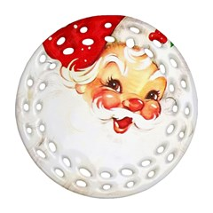 Santa Claus 1827265 1920 Ornament (round Filigree)