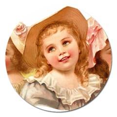 Girls 1827219 1920 Magnet 5  (round)