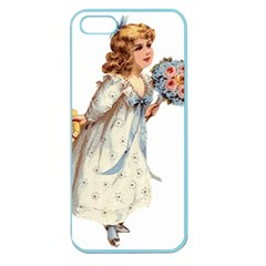 Child 1718357 1920 Apple Seamless Iphone 5 Case (color)