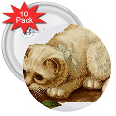 Cat 1827211 1920 3  Buttons (10 Pack)