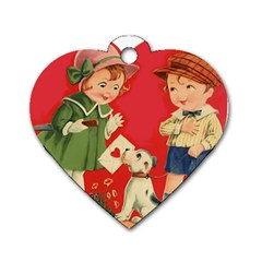 Children 1731738 1920 Dog Tag Heart (one Side)