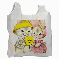 Rabbits 1731749 1920 Recycle Bag (one Side)