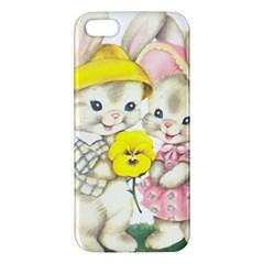 Rabbits 1731749 1920 Apple Iphone 5 Premium Hardshell Case